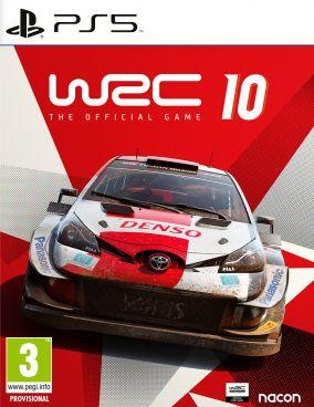 Copertina del gioco WRC 10 per PlayStation 5