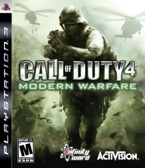 Copertina del gioco Call of Duty 4 Modern Warfare per PlayStation 3