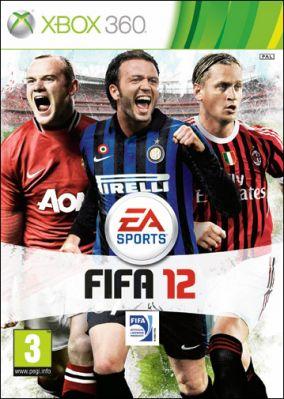Immagine della copertina del gioco FIFA 12 per Xbox 360