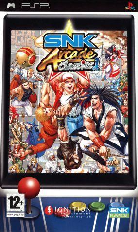 Immagine della copertina del gioco SNK Arcade Classics Volume 1 per PlayStation PSP