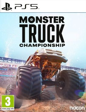Copertina del gioco Monster Truck Championship per PlayStation 5