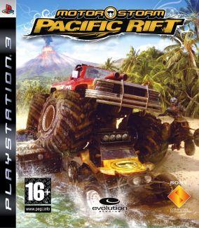 Copertina del gioco MotorStorm Pacific Rift per PlayStation 3