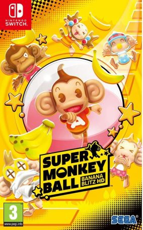 Copertina del gioco Super Monkey Ball: Banana Blitz HD per Nintendo Switch