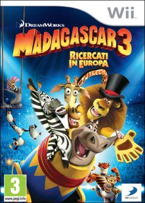 Immagine della copertina del gioco Madagascar 3: The Video Game per Nintendo Wii