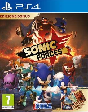 Immagine della copertina del gioco Sonic Forces per PlayStation 4