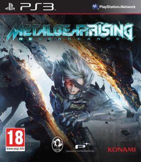 Copertina del gioco Metal Gear Rising: Revengeance per PlayStation 3