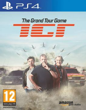 Copertina del gioco The Grand Tour Game per PlayStation 4