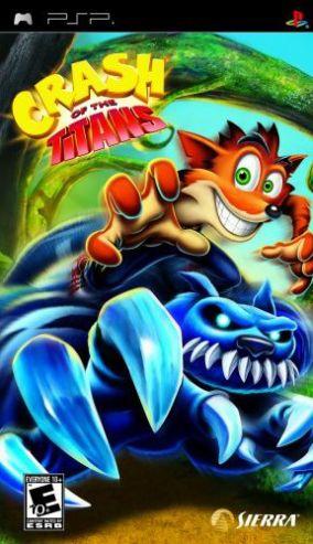 Immagine della copertina del gioco Crash of the Titans per PlayStation PSP