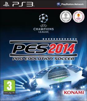 Copertina del gioco Pro Evolution Soccer 2014 per PlayStation 3