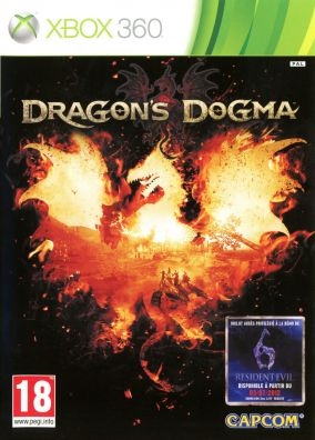 Copertina del gioco Dragon's Dogma per Xbox 360