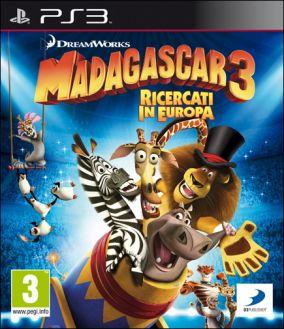 Immagine della copertina del gioco Madagascar 3: The Video Game per PlayStation 3