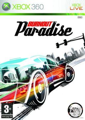 Copertina del gioco Burnout Paradise per Xbox 360