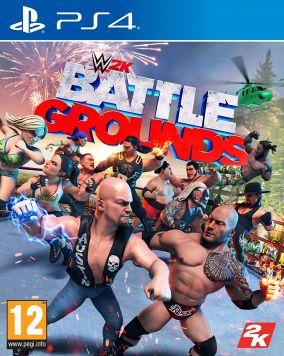 Copertina del gioco WWE 2K Battlegrounds per PlayStation 4