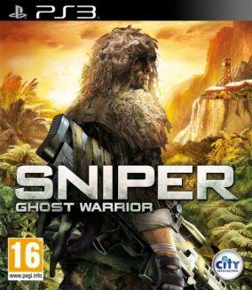 Copertina del gioco Sniper: Ghost Warrior per PlayStation 3