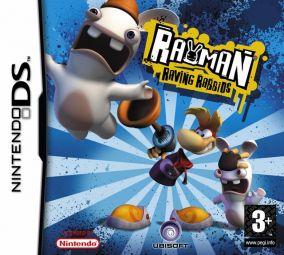 Immagine della copertina del gioco Rayman Raving Rabbids per Nintendo DS