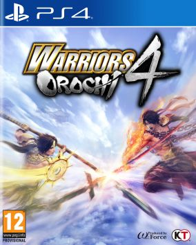 Copertina del gioco Warriors Orochi 4 per PlayStation 4