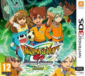 Copertina del gioco Inazuma Eleven Go: Chrono Stones tuono per Nintendo 3DS