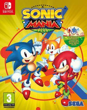 Immagine della copertina del gioco Sonic Mania Plus per Nintendo Switch