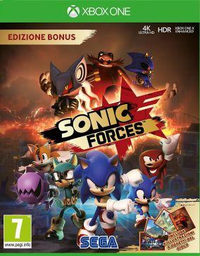 Immagine della copertina del gioco Sonic Forces per Xbox One