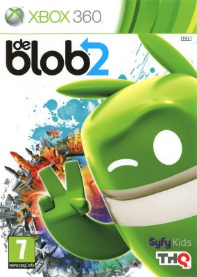Copertina del gioco de Blob 2 per Xbox 360