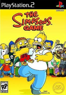 Copertina del gioco I Simpson - Il videogioco per PlayStation 2