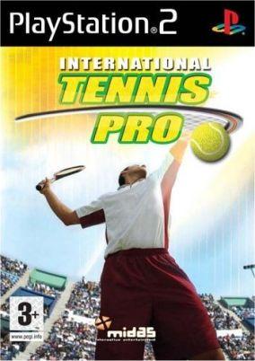 Copertina del gioco International Tennis Pro per PlayStation 2