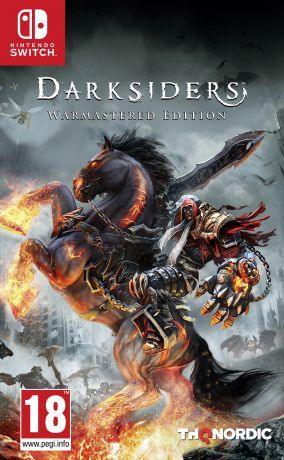 Copertina del gioco Darksiders: Warmastered Edition per Nintendo Switch