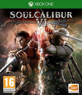 Immagine della copertina del gioco Soul Calibur VI per Xbox One