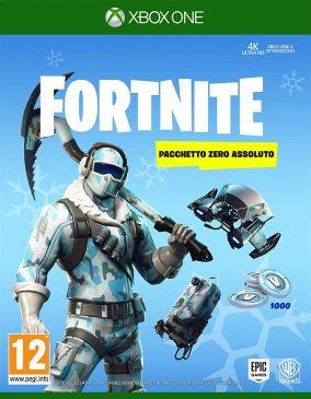 Copertina del gioco Fortnite: Pacchetto Zero Assoluto per Xbox One