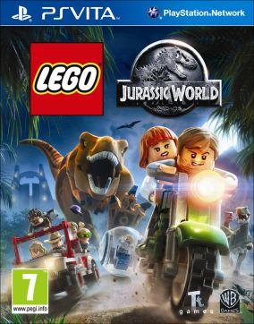 Copertina del gioco LEGO Jurassic World per PSVITA