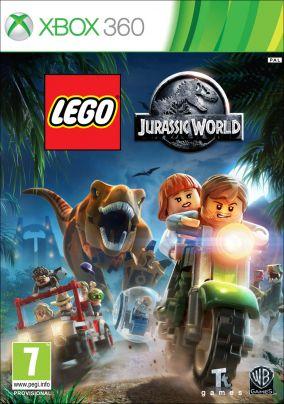 Immagine della copertina del gioco LEGO Jurassic World per Xbox 360