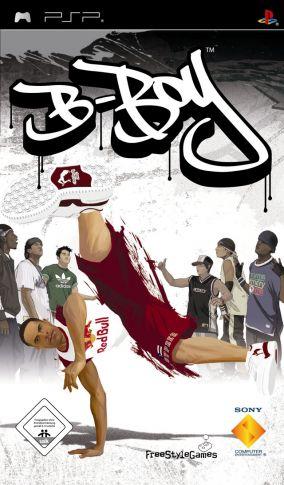 Immagine della copertina del gioco B-Boy per Playstation PSP
