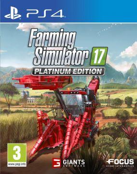 Immagine della copertina del gioco Farming Simulator 17: Platinum Edition per Playstation 4