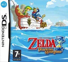 Immagine della copertina del gioco The Legend of Zelda: Phantom Hourglass per Nintendo DS