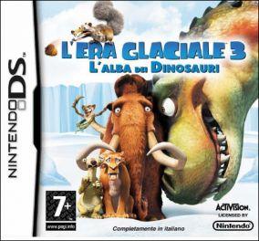 Immagine della copertina del gioco L'Era Glaciale 3: L'alba dei Dinosauri per Nintendo DS