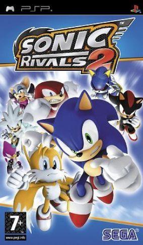Immagine della copertina del gioco Sonic Rivals 2 per Playstation PSP