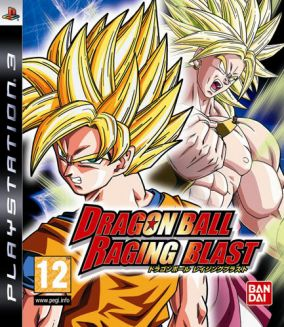 Copertina del gioco Dragon Ball: Raging Blast per PlayStation 3