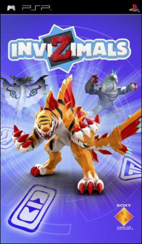 Copertina del gioco Invizimals per PlayStation PSP