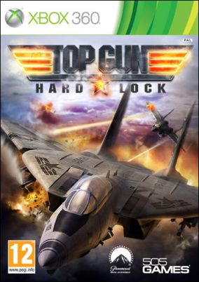 Copertina del gioco Top Gun: Hard Lock per Xbox 360