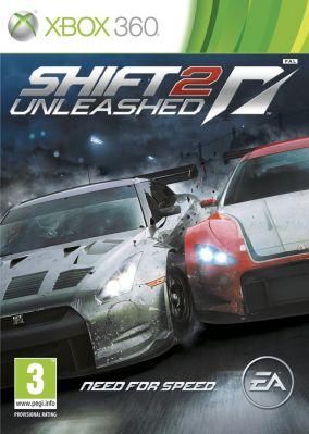 Copertina del gioco Shift 2: Unleashed per Xbox 360