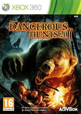 Copertina del gioco Cabela's Dangerous Hunts 2011 per Xbox 360