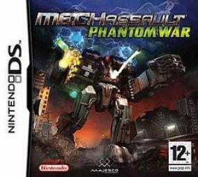 Immagine della copertina del gioco MechAssault: Phantom War per Nintendo DS