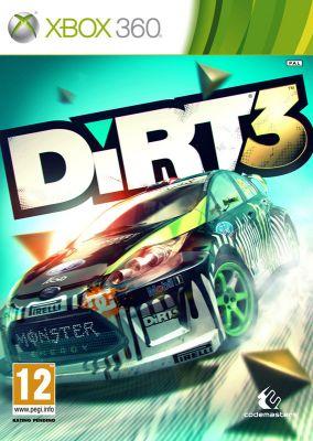 Copertina del gioco DiRT 3 per Xbox 360