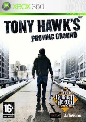 Copertina del gioco Tony Hawk's Proving Ground per Xbox 360