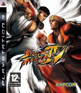 Copertina del gioco Street Fighter IV per PlayStation 3