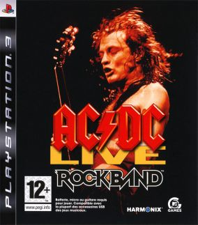 Copertina del gioco Rock Band AC-DC Song Pack per PlayStation 3