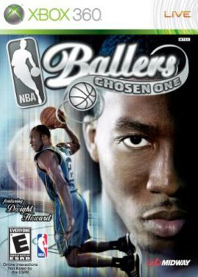Copertina del gioco NBA Ballers Chosen One per Xbox 360