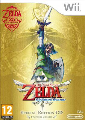 Immagine della copertina del gioco The Legend of Zelda: Skyward Sword per Nintendo Wii