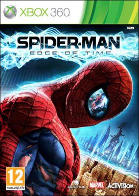 Copertina del gioco Spider-Man: Edge of Time per Xbox 360