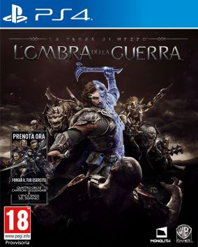 Immagine della copertina del gioco La Terra di Mezzo: L'Ombra della Guerra per PlayStation 4
